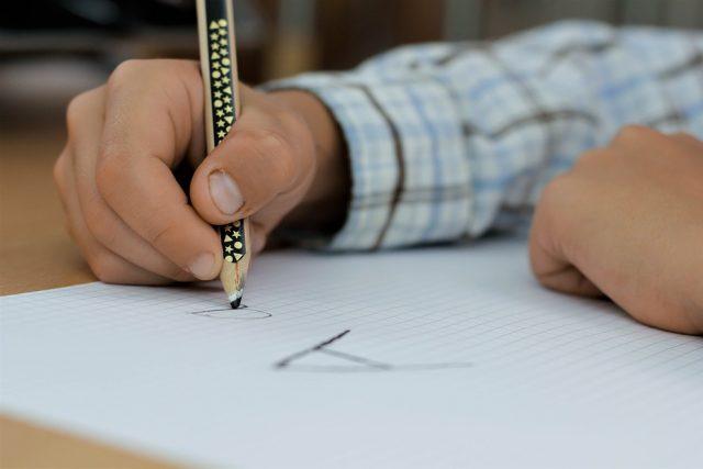 pisanje slova - škola