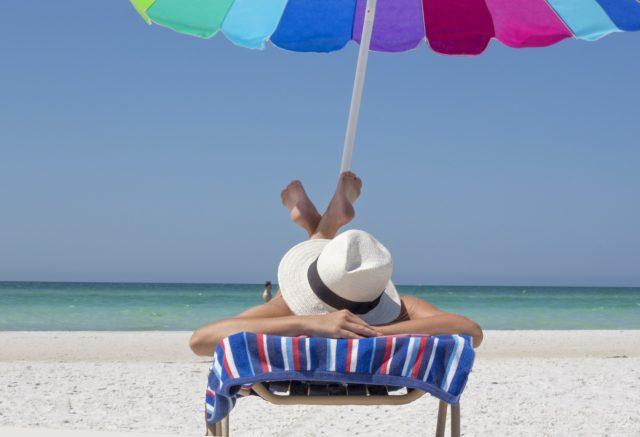 odmor tropski dan