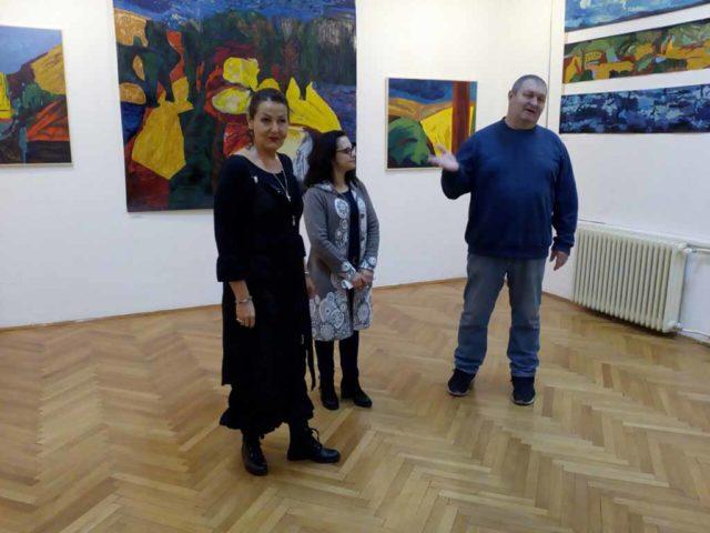 Otvaranje izložbe Danijele Lilić iz Zaječara