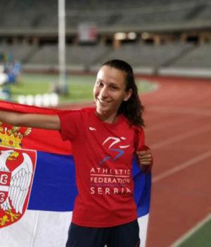 Iva Maletić, atletičarka iz Zaječara