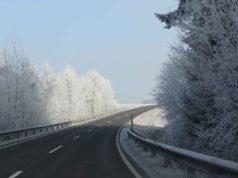 Zima auto put