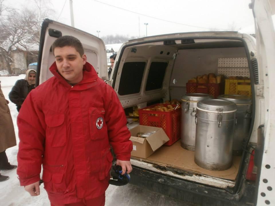 Crveni krst Zaječar - isporuka obroka