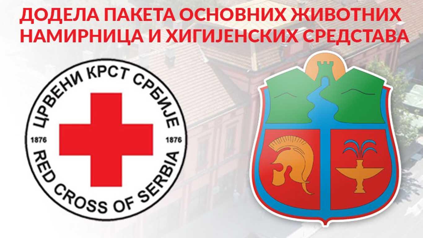 Uputstvo za ostvarivanje prava za dobijanje humanitarnih paketa