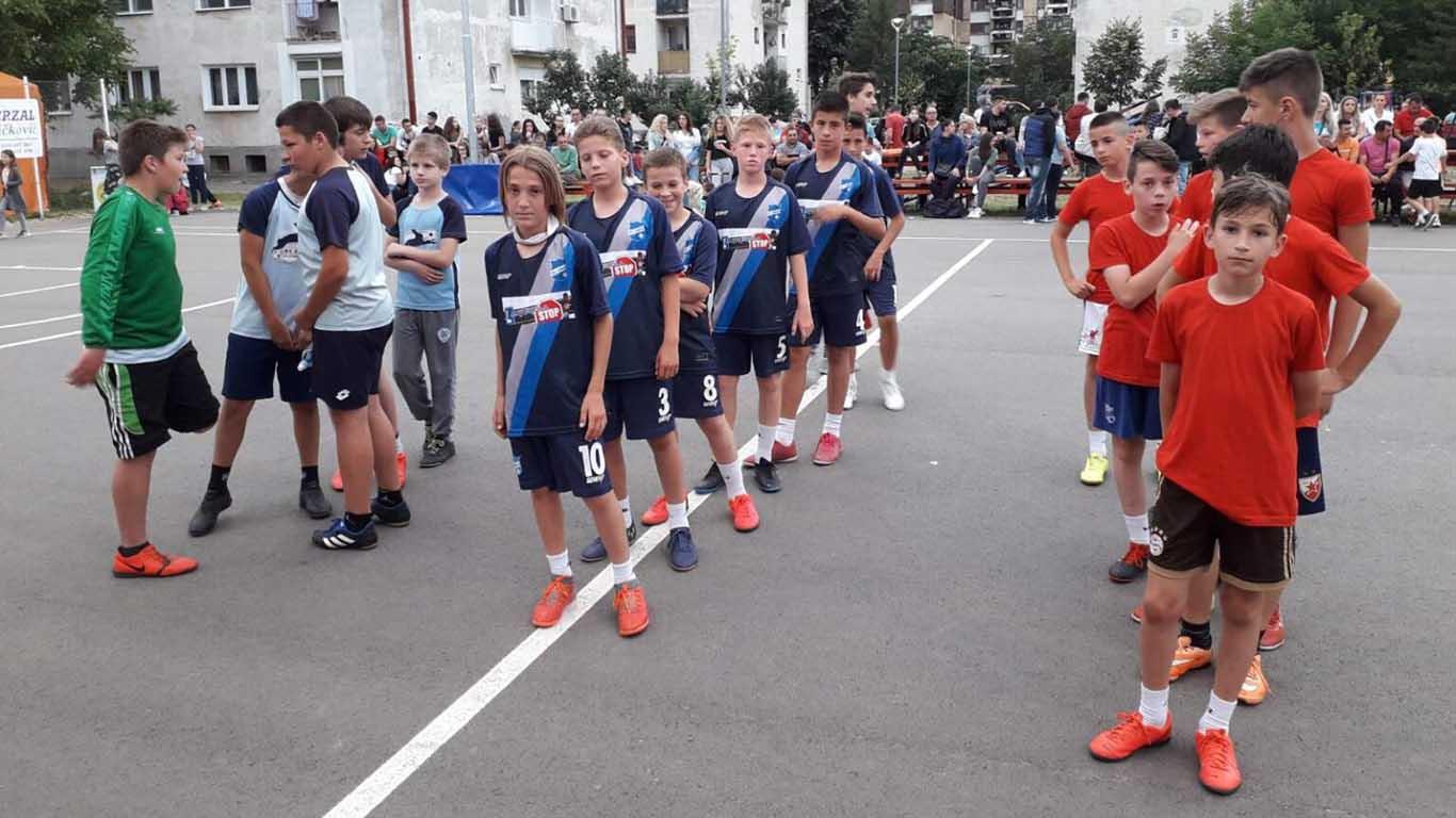 Turnir u malom fudbalu u Kotlujevcu - Petlići