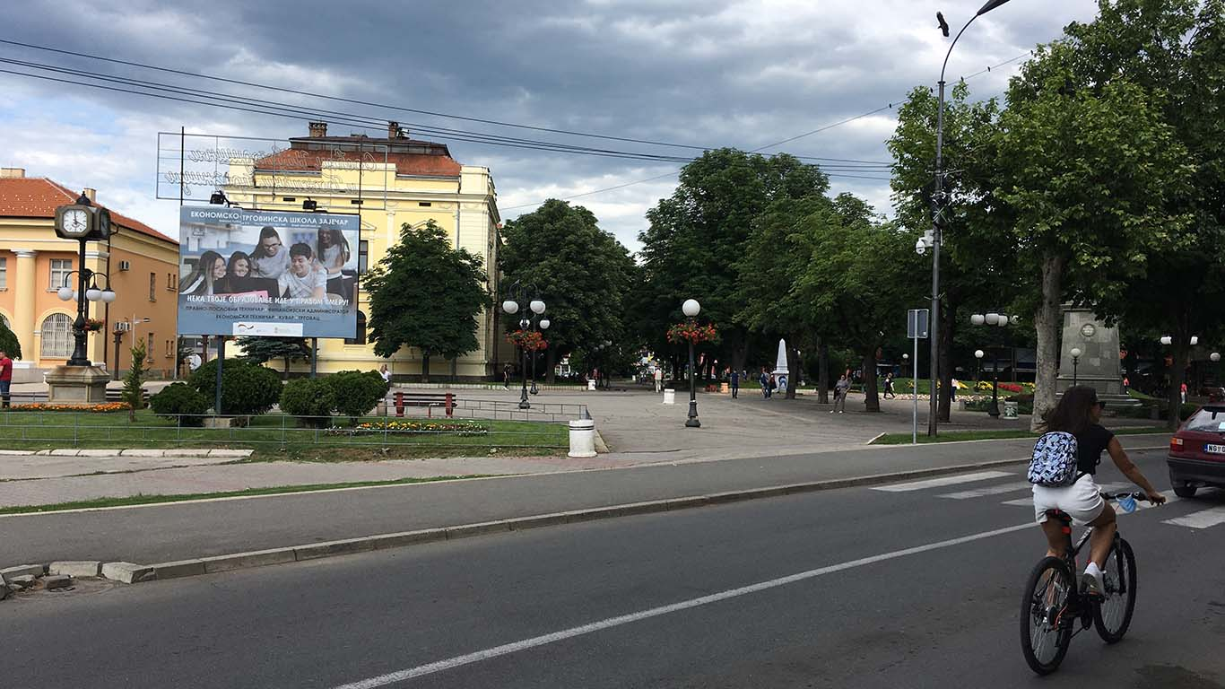 Zaječar, centar grada jun 2020.