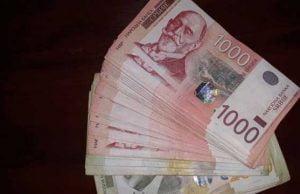 Novac, dinari
