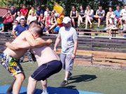 Rvanje, Seoske sportske igre u Zaječaru