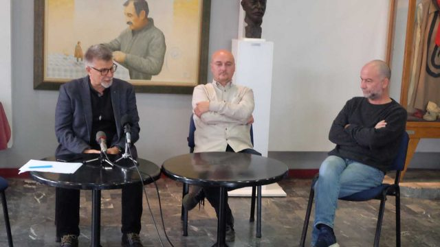 Konferencija za novinare u zaječarskom pozorištu