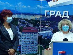 Konferencija za novinare u Boru u vezi koronavirusa