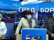 Kovid konferencija za novinare u Boru