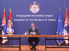 Konferencija za novinare, Vučić, Brnabić, Dačić