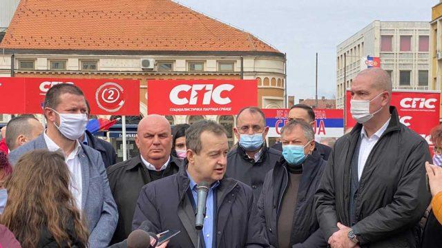 Ivica Dačić u Zaječaru