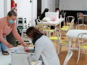 Falc East, prijava za vakcinaciju u fabrici
