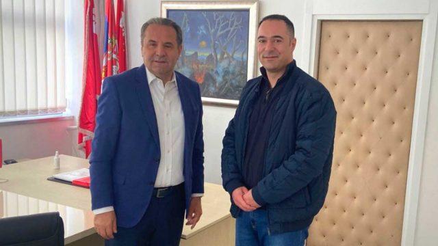 Rasiim Ljajić i Ivan Čikarić, SDPS Zaječar