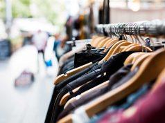 Vešalice, butik, garderoba