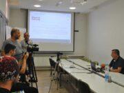 Vladan Jeremić, konferencija za novinare